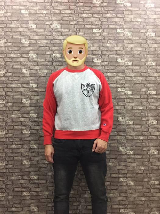45b61a75af9f Champion Champion Sweatshirt Grey Red Champion Sweater   Champion ...