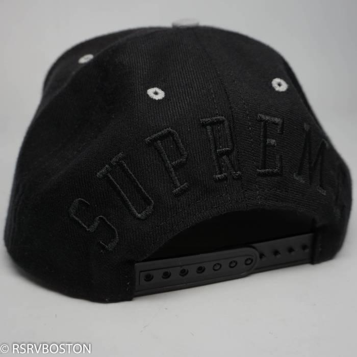 ba986e584b8 Supreme New Champion 5 Panel Snapback Hat Black SS15 Size one size ...