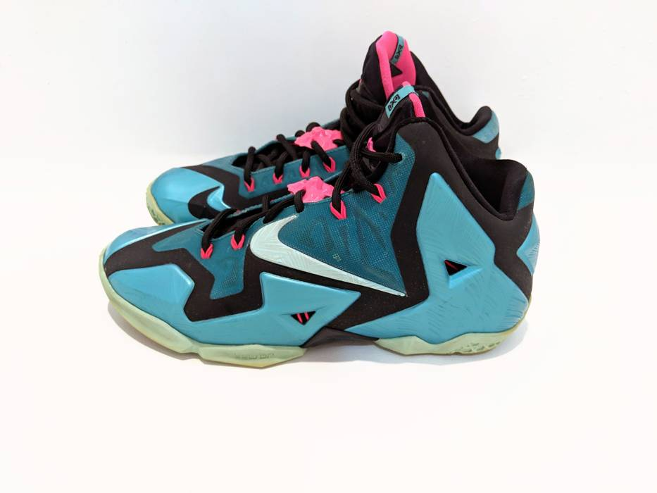 5d5f0571d5510e Nike Lebron 11 South Beach Size 7.5 - Hi-Top Sneakers for Sale - Grailed