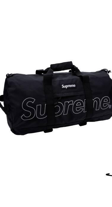 995ea2f07aa2 Supreme Supreme Duffle Bag (FW18) Black Size one size - Bags ...