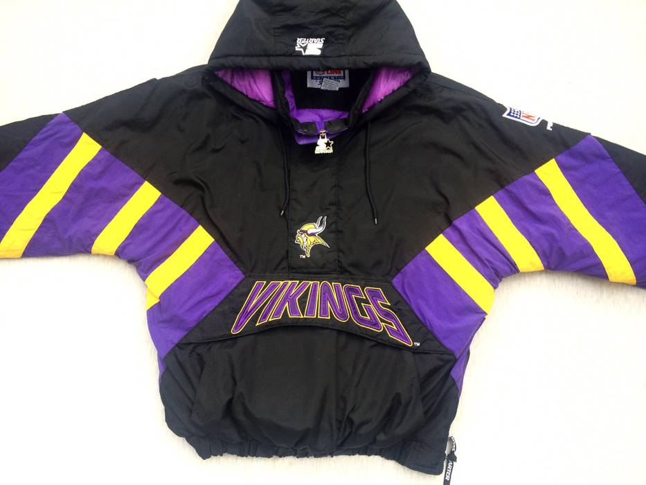 Starter vikings nfl jacket Size xl - Sweatshirts   Hoodies for Sale ... dc7e54891