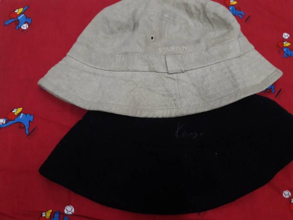 Balmain Vintage Balmain Paris + Kenzo Bucket Hat Dad Cap Size ONE SIZE - 1 e3d2e7bf6d90