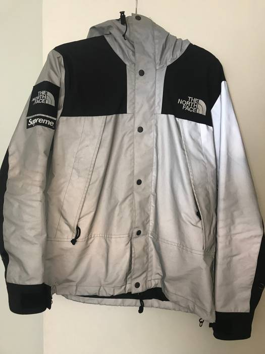 7314c9b35b74 Supreme SS13 Supreme The North Face 3M Reflective Mountain Parka Size US M    EU 48
