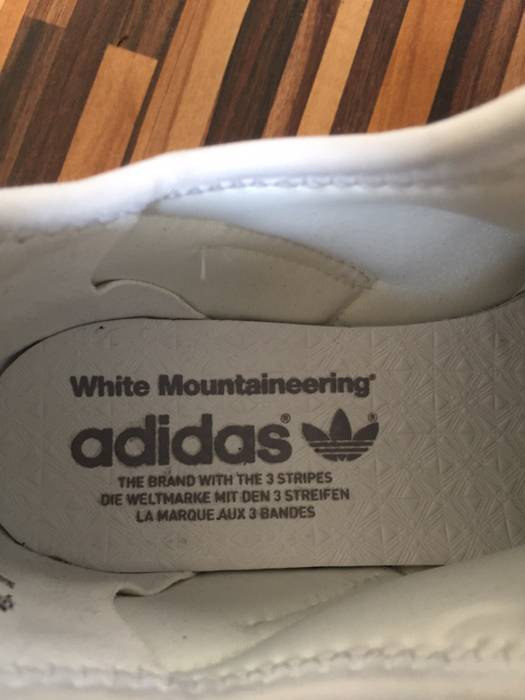 7f0974117edd6 Adidas White Adidas X White Mountaineering ZX Flux High-Top Sneakers Size  US 7