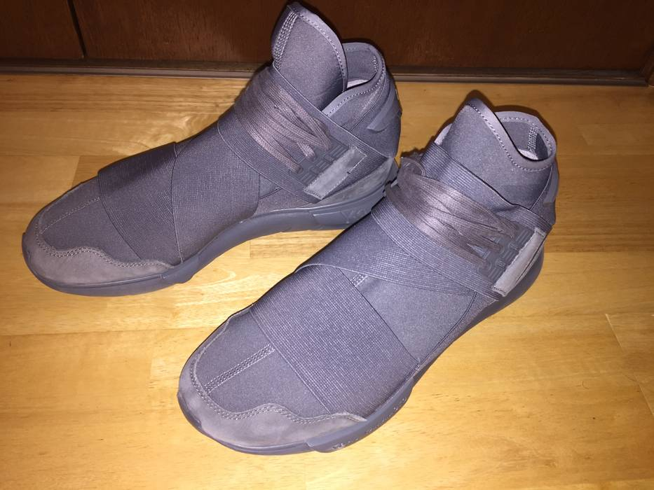 97f075b4efbff Adidas Y-3 Qasa High Vista Grey Size 9.5 - Hi-Top Sneakers for Sale ...