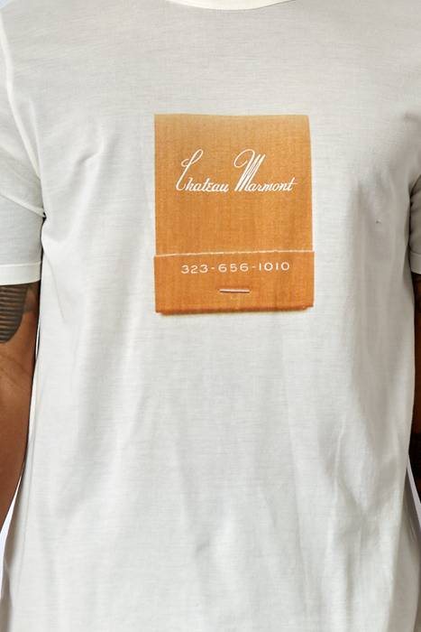 5754e2cf492 Band Of Outsiders BRAND NEW! CHATEAU MARMONT TEE Size m - Short ...