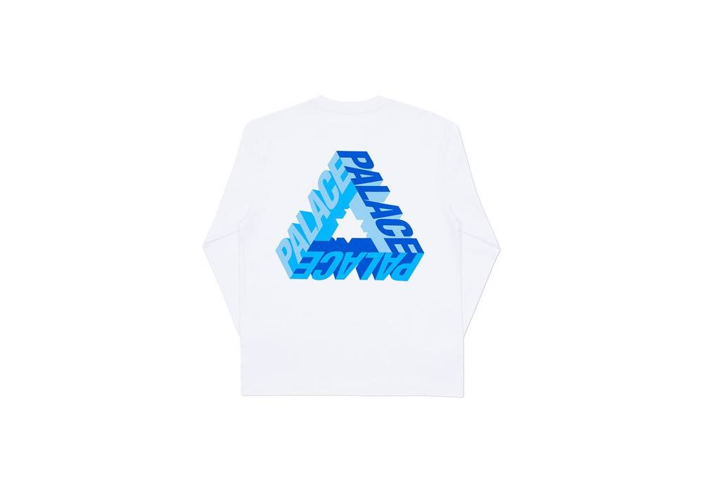 53c5d069a333 Palace P-3D LONGSLEEVE WHITE Size m - Long Sleeve T-Shirts for Sale ...