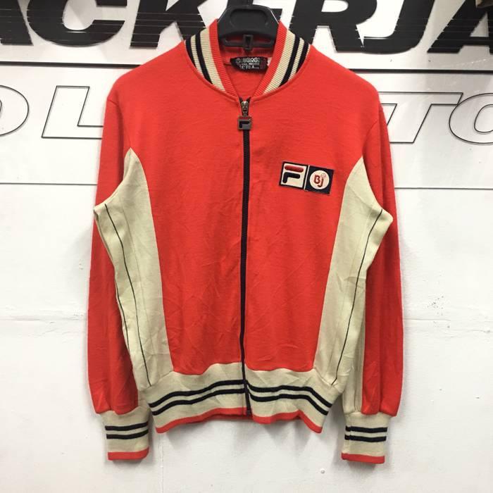 3b3258d7119f Vintage Rare Vintage 80s Fila Bjorn Borg MK1 Settanta Track Top Jacket In  Red Size US