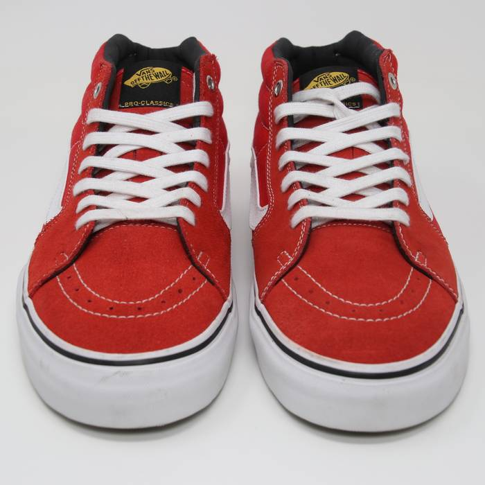 f8879a7717 Vans Vans Sk8 Mid Top Red Classic Collaboration Black Label VN-0SJJ9SY  Japan Us 11