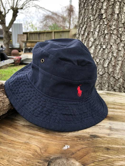 Polo Ralph Lauren Vintage Polo Bucket Hat Size one size - Hats for ... 777b5fa39d7