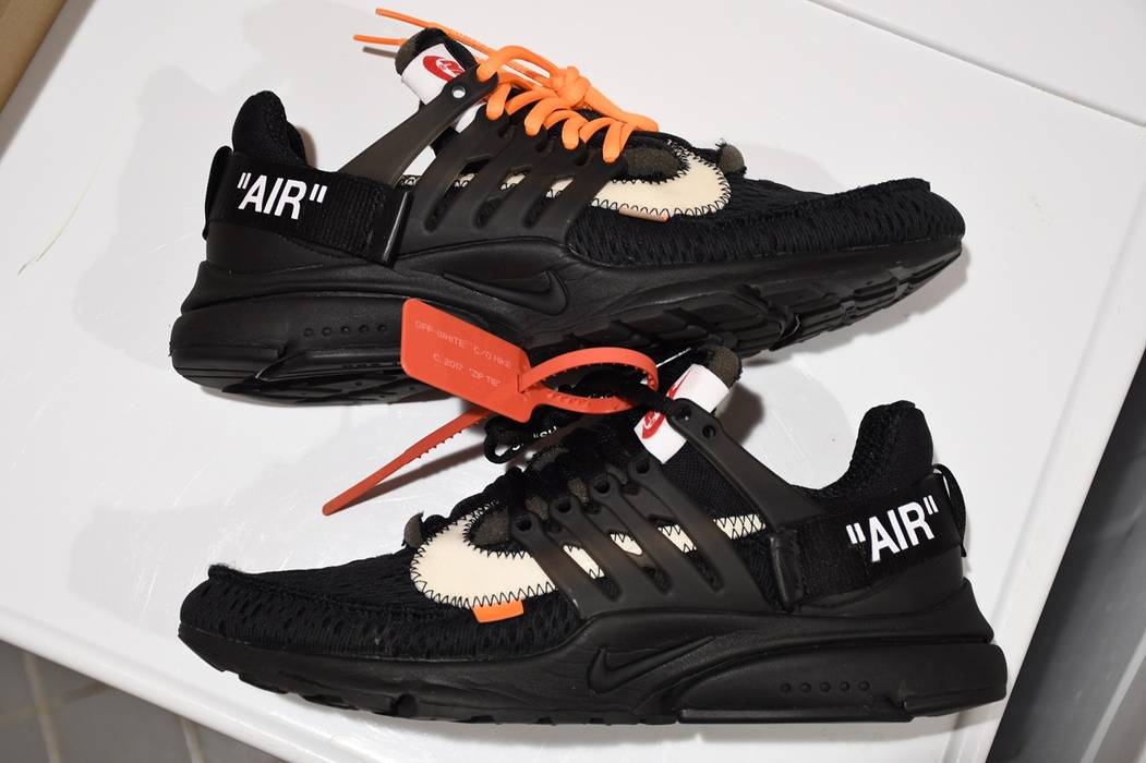 c5fa9c21e0498e Nike off-white x nike air presto 2018 (black) Size 9 - Low-Top ...