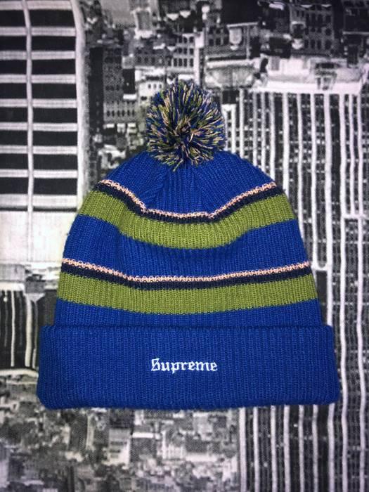 c06ad2dc8e7 Supreme Supreme Big Stripe Beanie Size one size - Hats for Sale ...
