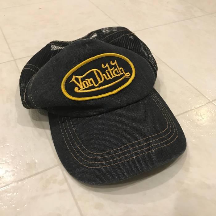 Vintage Von Dutch denim style trucker hat Size one size - Hats for ... 2b6c53e742d