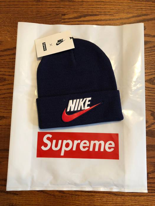 Supreme Supreme X Nike Beanie Size one size - Hats for Sale - Grailed fe84c872ff44