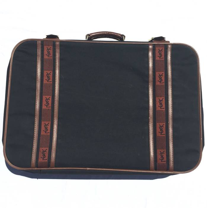 Ysl Pour Homme Vintage Ysl Suitcase Size One Size Bags Luggage
