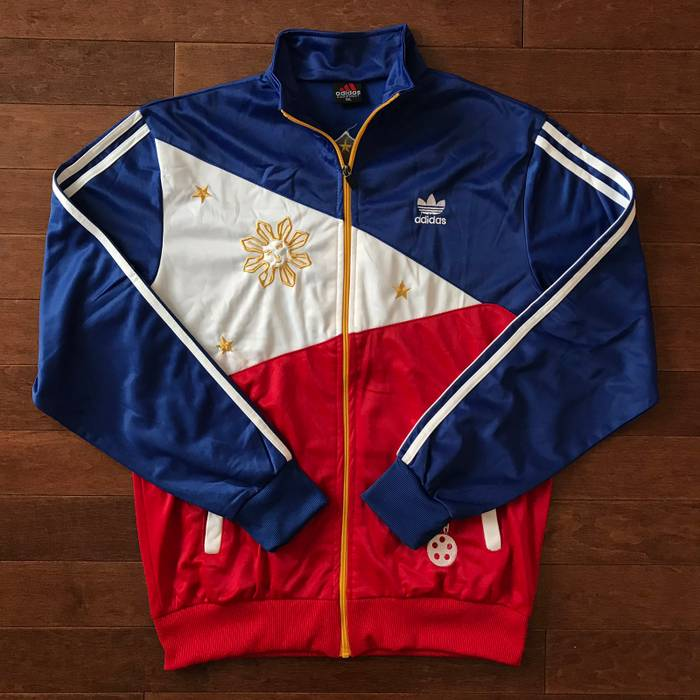 2ceb9f04d8e0 Adidas Philippines Track Jacket (Manny Pacquiao) Size US L   EU 52-54