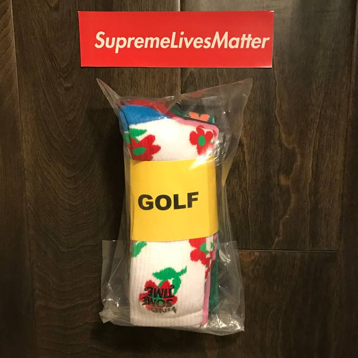 0a88cb5937c1 Golf Wang Find Some Time 3 PK Sock Size one size - Socks   Underwear ...