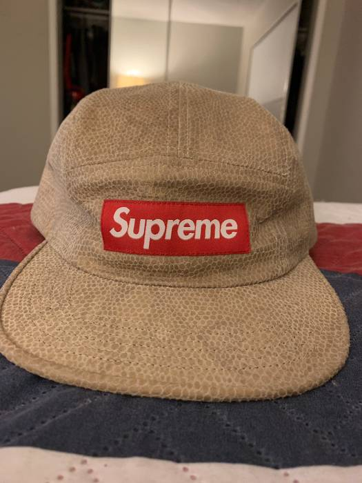 Supreme Suede Snakeskin Hat Size one size - Hats for Sale - Grailed 1ba2cfa7d1a