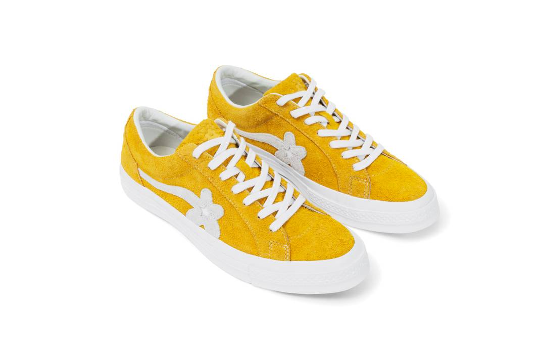 9465f532539 Converse Tyler the Creator Golf Le Fleur Converse One Star Yellow Clover  Size 10 Size US