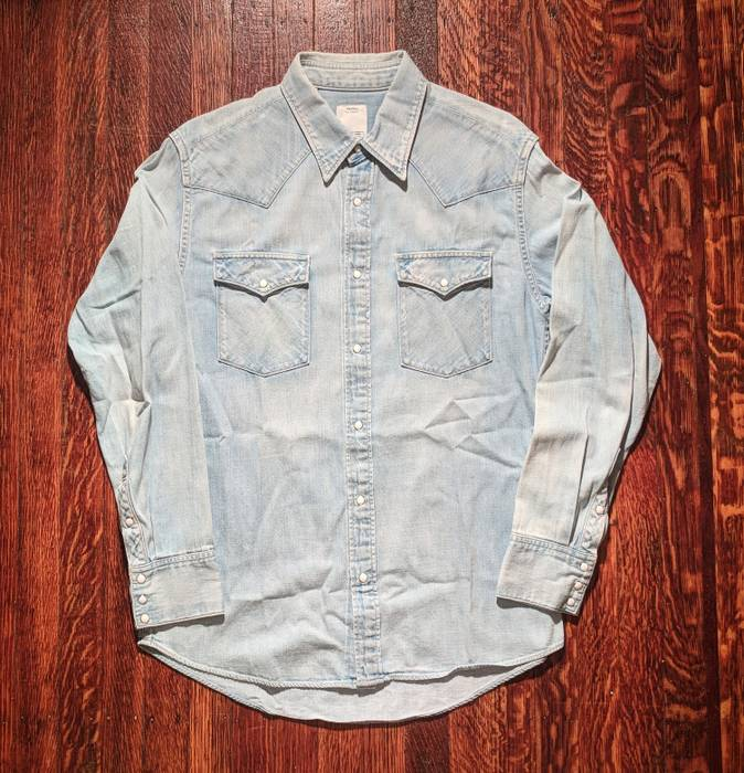 700743a7a6b Visvim Social Sculpture Shirt Size m - Shirts (Button Ups) for Sale ...