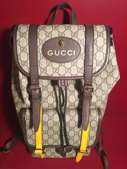 83ceaefaa8c Gucci Soft GG Supreme Backpack Size one size - Bags   Luggage for ...
