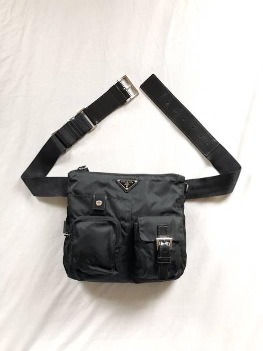 0b254c8a94ba Prada Vela Nylon Utility Waist Bag Size one size - Bags   Luggage ...