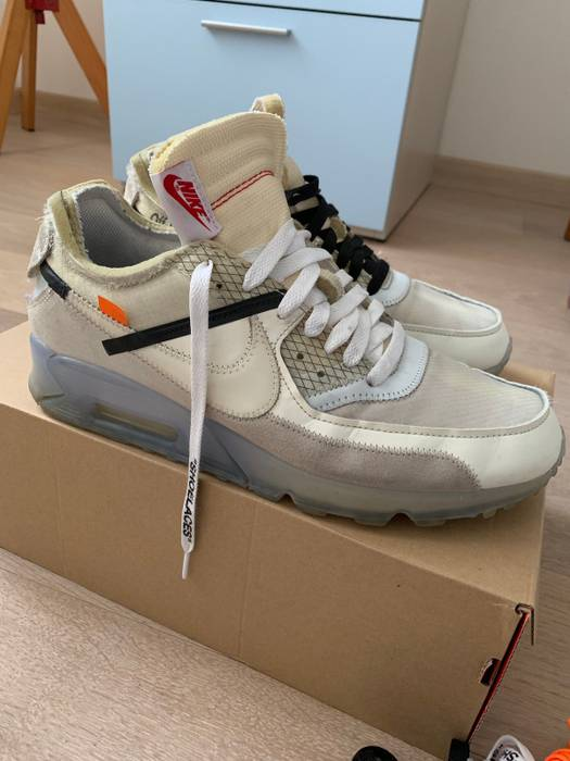 5a2a115650b6e Nike Air Max 90 Off-white Size 10 - Low-Top Sneakers for Sale - Grailed