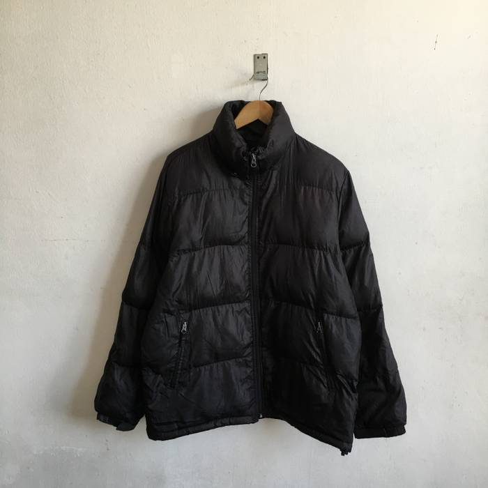 da26b13510f0 Converse CONVERSE Puffer Jacket Windbreaker Zipper Black Nylon Size Large  Size US L   EU 52