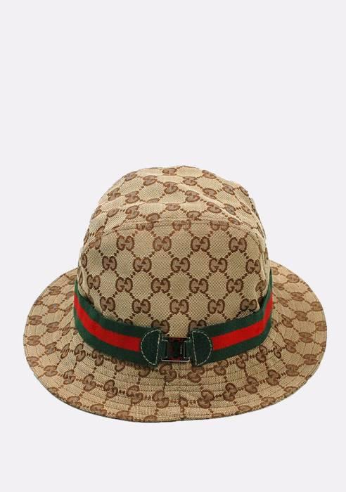 Gucci Original Gucci Summer Monogram Brown Men Cap Hat in size S Size ONE  SIZE 63c07771c82