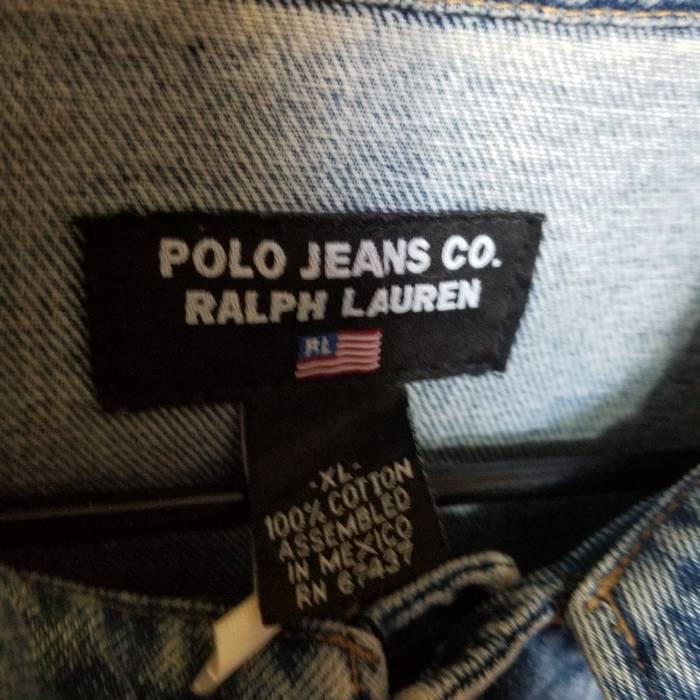 ea7d5946454 Polo Ralph Lauren Vintage Polo Jeans Co. Ralph Lauren Jean Jacket W  Big  Flag