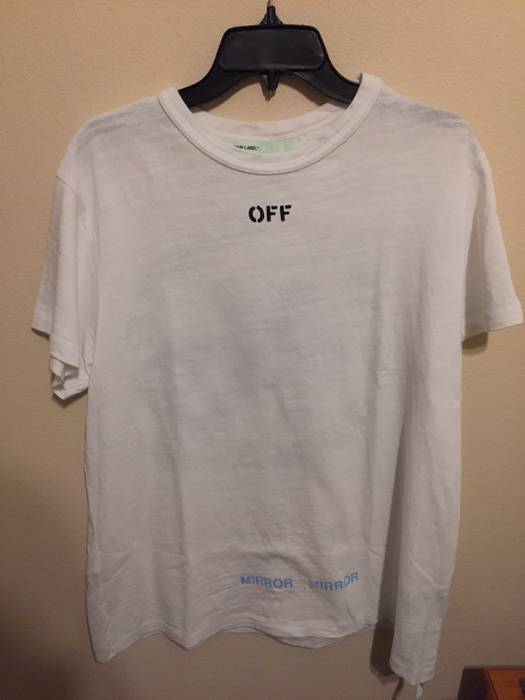 e7b51c81c1a6 Off-White  FINAL DROP  FITS MED. Care Off White Tee Size xs - Short ...