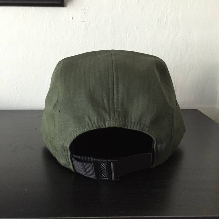 eac725a93c5 Supreme Olive Box Logo Camp Cap Size one size - Hats for Sale - Grailed