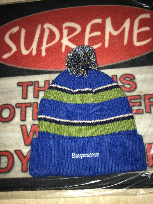 639ae7ea847 Supreme Supreme Beanie Big Stripe Winter Hat Size one size - Hats ...