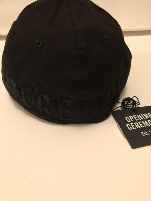 d75107273bf Opening Ceremony Opening Ceremony x New Era Logo Fitted Cap Black Small S OC  Hat New