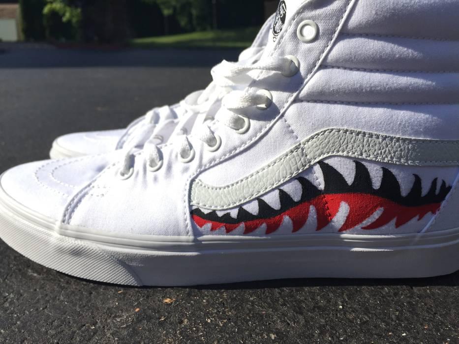0a7fbc09de Vans Hand Painted Sharkmouth.. 2 Pairs Size 10.5 - Hi-Top Sneakers ...