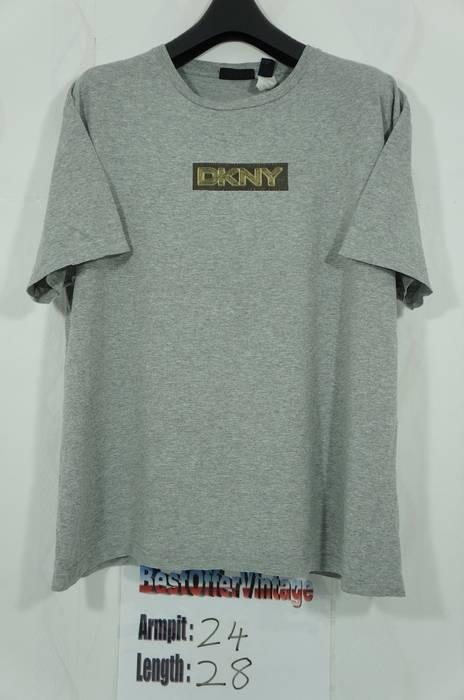 Dkny Vintage DKNY Donna Karan New York Box Logo T shirt Size US L   EU 1878894051a