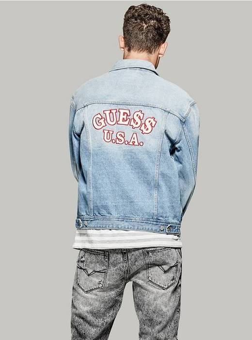 e0592700e98 Guess Asap Rocky Dillon Denim Jacket Size m - Denim Jackets for Sale ...