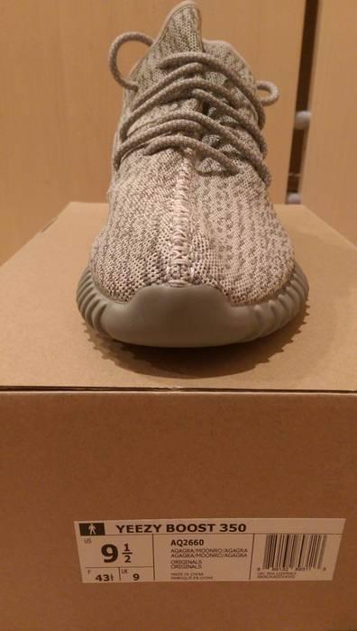 Adidas Kanye West Yeezy Boost 350 Moonrock Size 9.5 Size US 9.5   EU 42- f8d1d5767