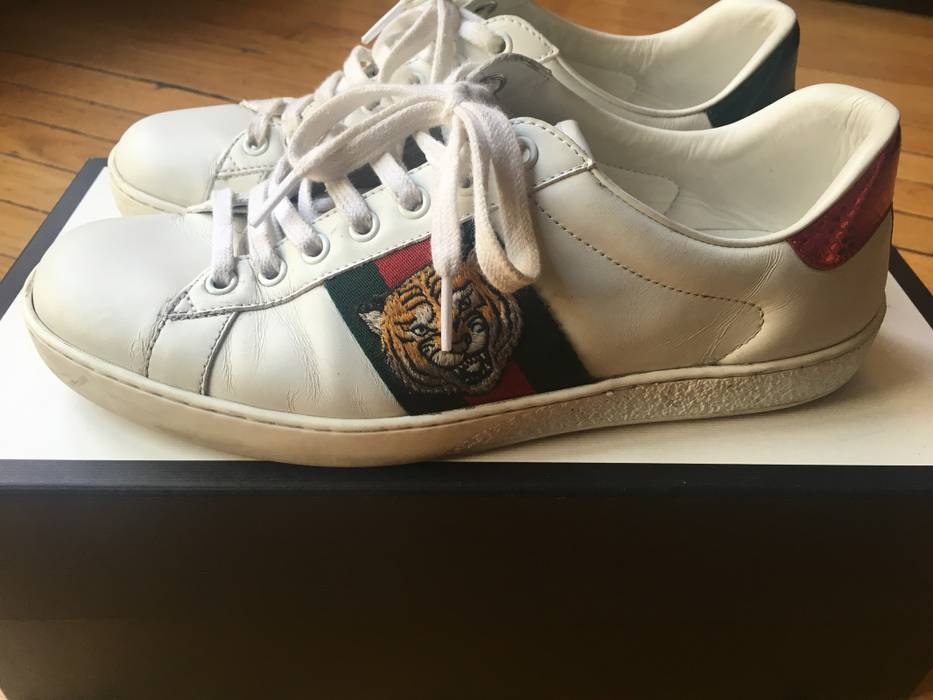 87bc0b84759 Gucci Tiger Ace Size 8 - Low-Top Sneakers for Sale - Grailed