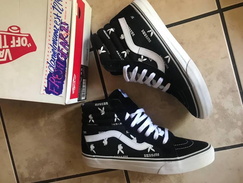 883e3b76ed Supreme Vans x Supreme x Playboy Sk8-Hi Size 9.5 - Hi-Top Sneakers ...