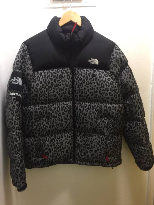 56f603e6e6 Supreme Leopard Nuptse Size l - Bombers for Sale - Grailed