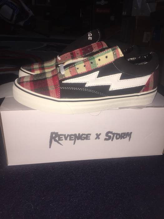 Ian Connor Revenge x Storm Plaid   Black US9 Size 9 - Low-Top ... 7a57ce4f4