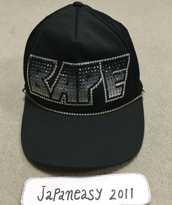 Bape BAPE SWAROVSKI TRUCKER HAT BLACK Size one size - Hats for Sale ... a44b4ded60d