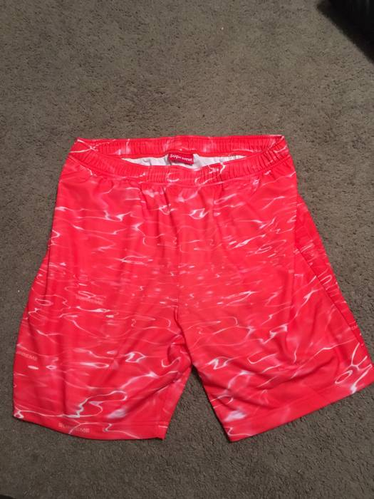 12969200c1e0 Supreme  Last Drop  Red Ripple Shorts Size 32 - Swimwear for Sale ...
