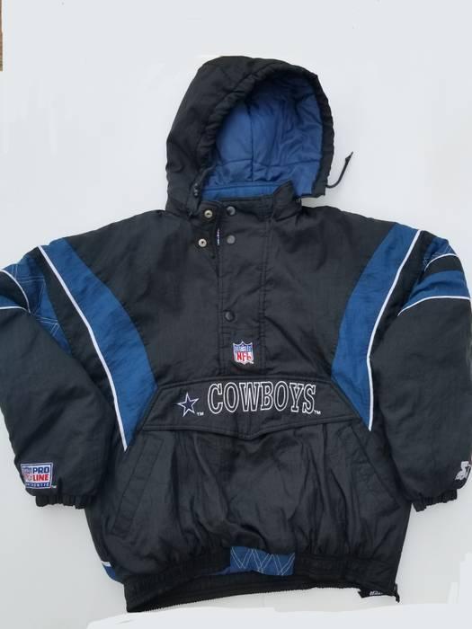 Starter Vintage Dallas Cowboys jacket Size l - Heavy Coats for Sale ... 834da7a8b