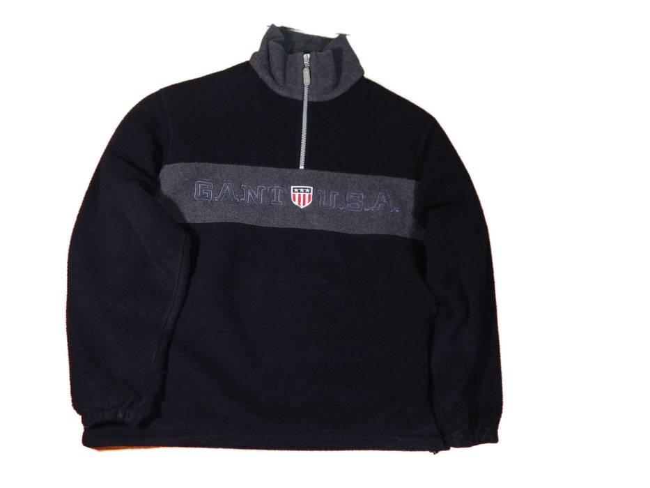 7cd517f52902d9 Vintage Gant USA Vintage Fleece Pullover Jacket Logo Size US M   EU 48-50