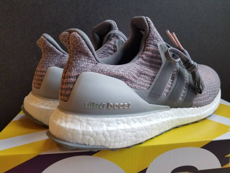 super popular d72e9 0814f Adidas Adidas Ultra Boost 3.0 S82022 Grey Four Trace Pink White Black Gray  yeezy nmd Size