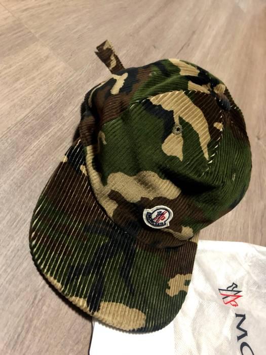 Moncler Moncler Camo Logo Hat Size one size - Hats for Sale - Grailed 6b86e392a06