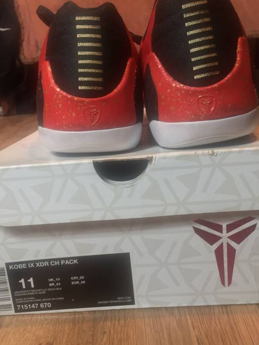 cd1699f35deb Nike Kobe 9 EM XDR China Size 11 - Low-Top Sneakers for Sale - Grailed
