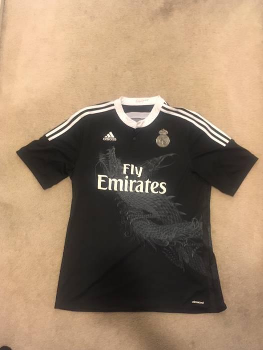 fa9330a7c98d Adidas Adidas Yohji Yamamoto Real Madrid Soccer Jersey Size US XL   EU 56    4